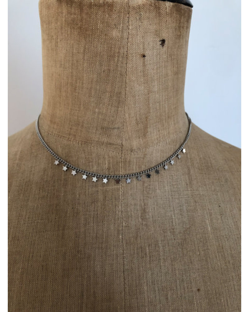 Necklace stars silver