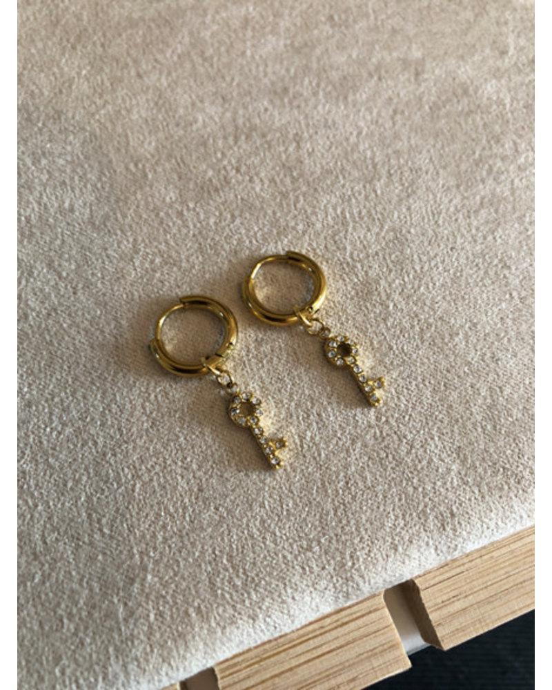 Earrings gold #6