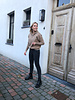 Olivia zipper jumper camel