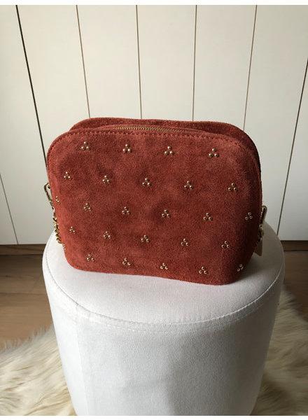 Handbag dusty red