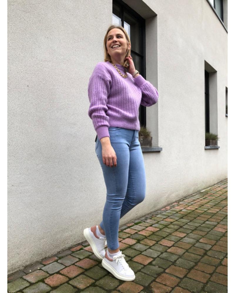Hailey knit lilac