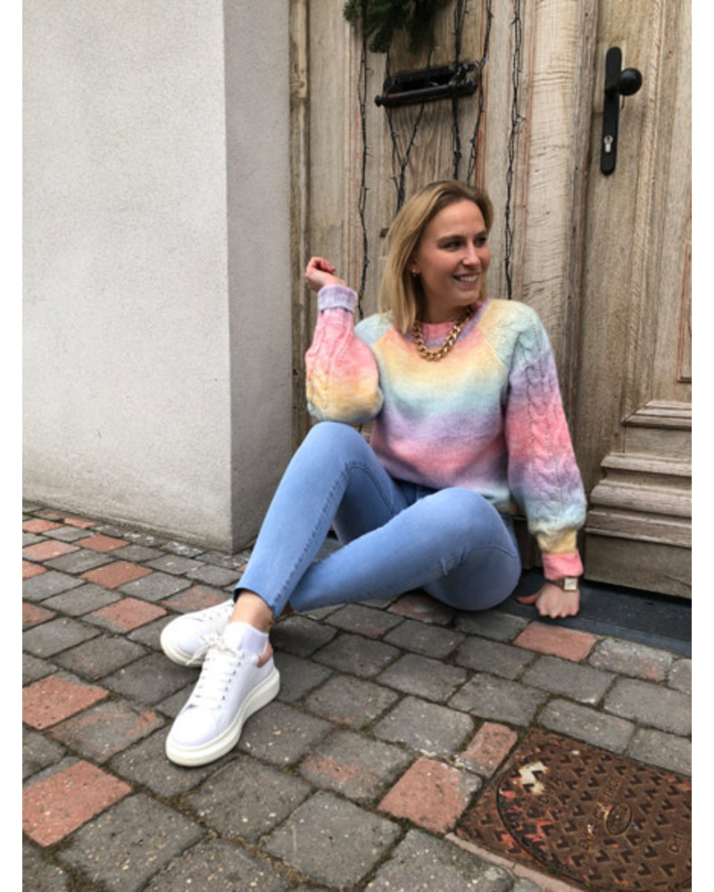 Sweet as candy sweater