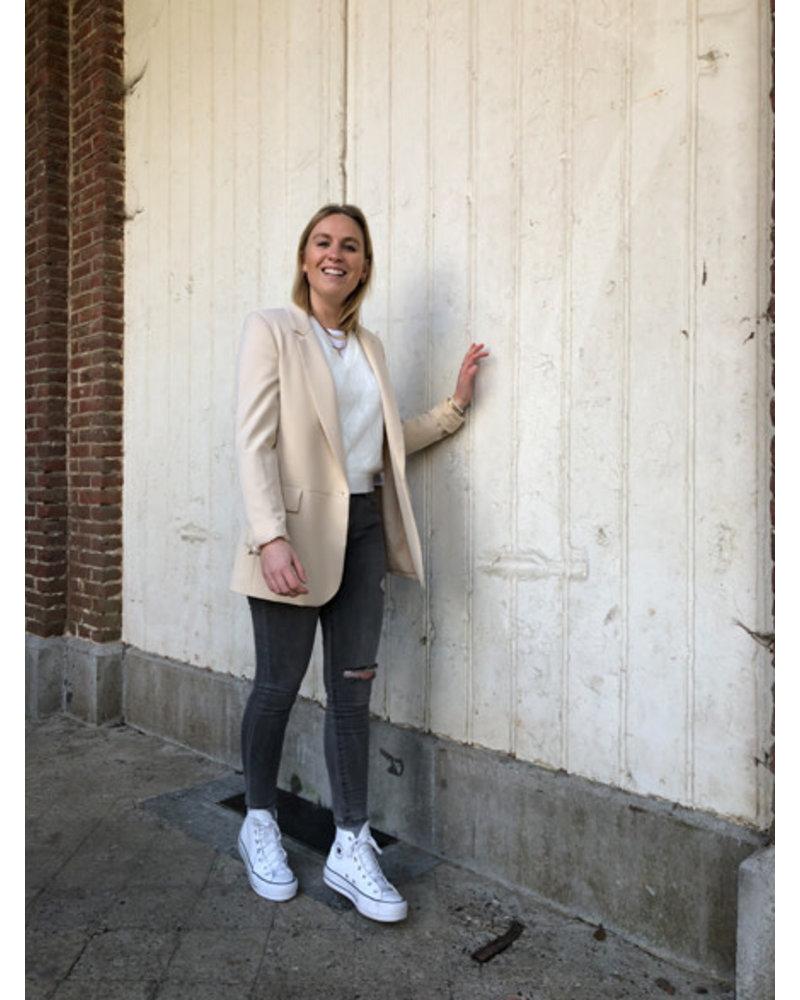 Elena blazer beige
