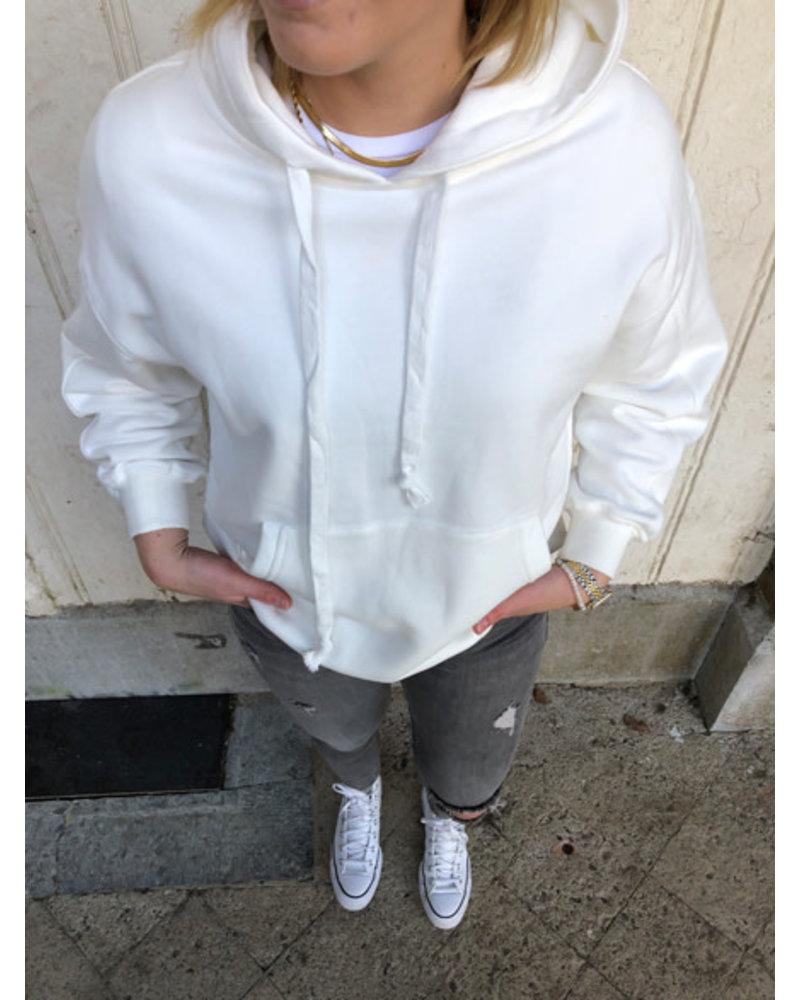 Clara hoodie white