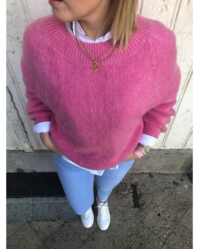 Elena knit party pink