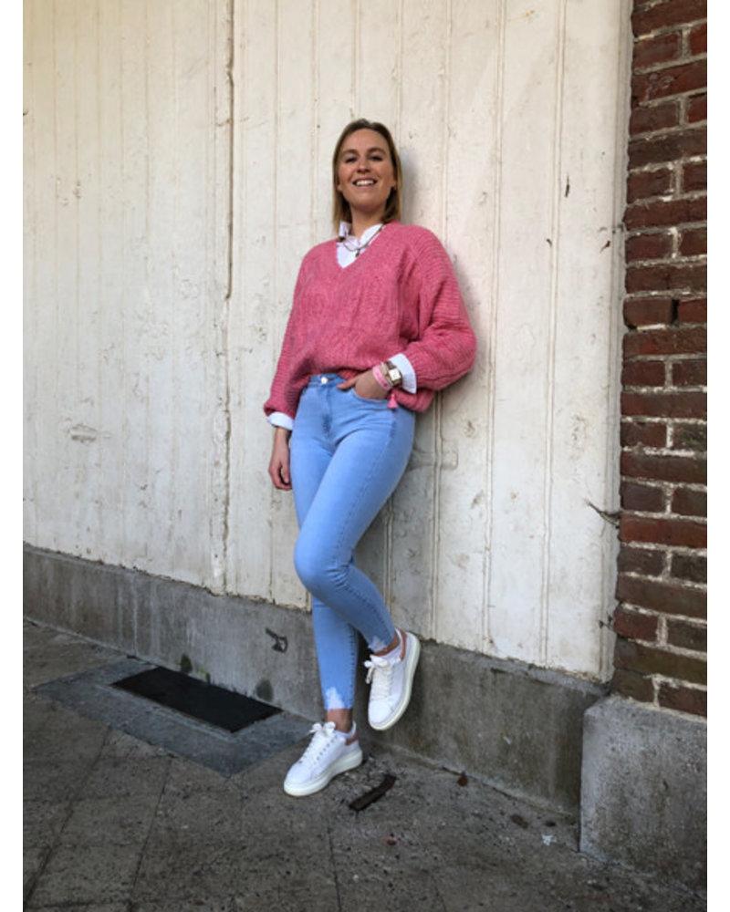 Clara jumper pink