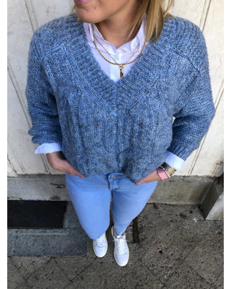 Clara jumper blue