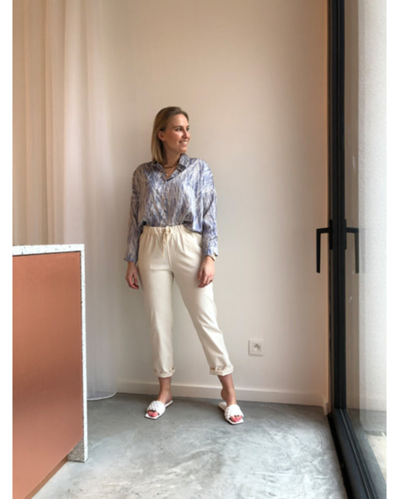 Charlie corduroy trousers off white