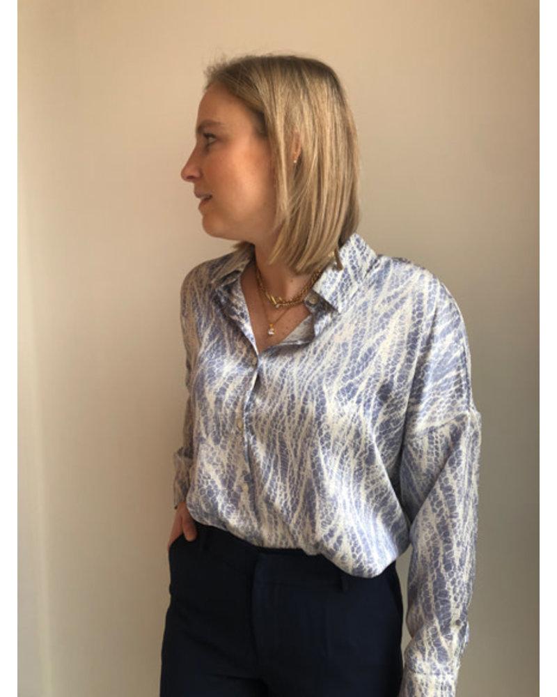 Alicia blouse blue