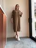 Alicia dress camel
