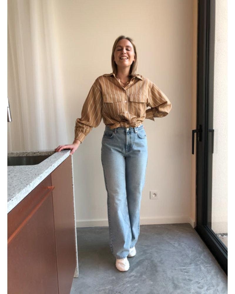 Relaxed full length jeans