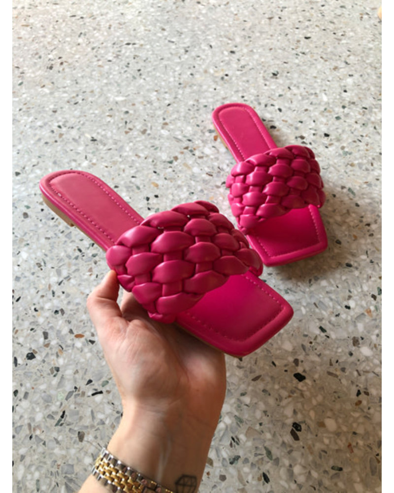 Alice slippers fuchsia