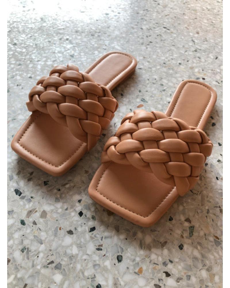 Alice slippers nude