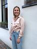 Luna silk blouse pink