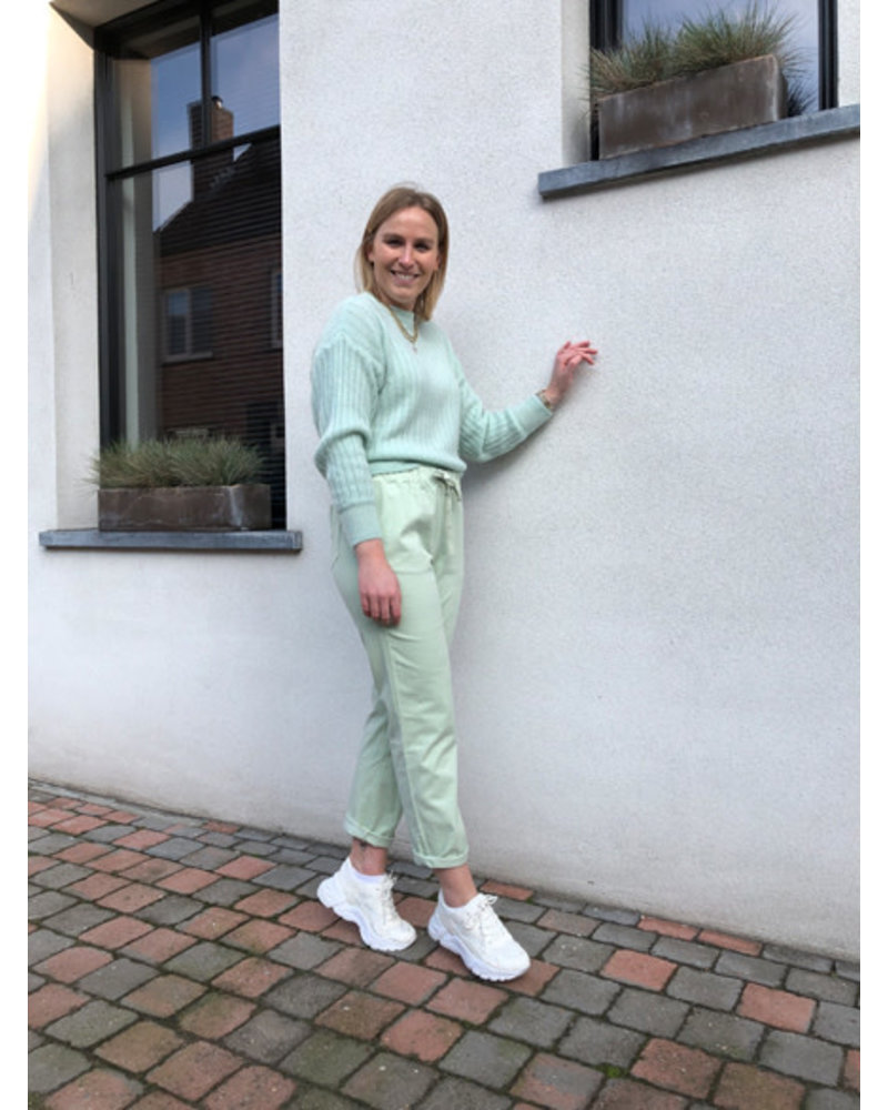 Hailey knit mint