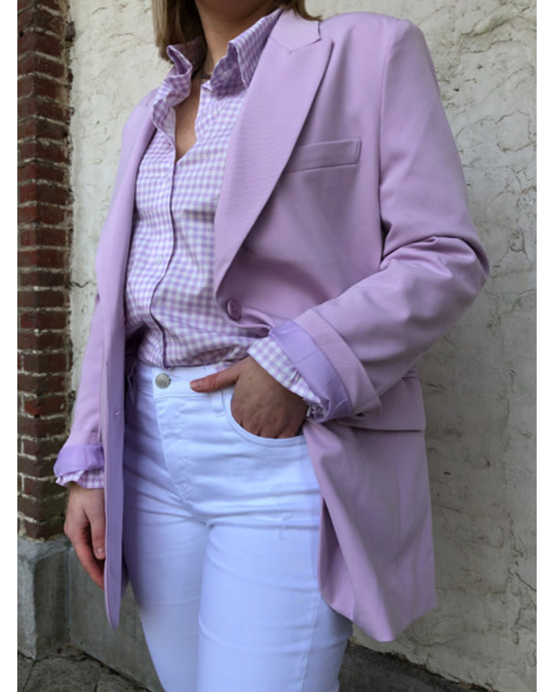 Faye oversized blazer lila