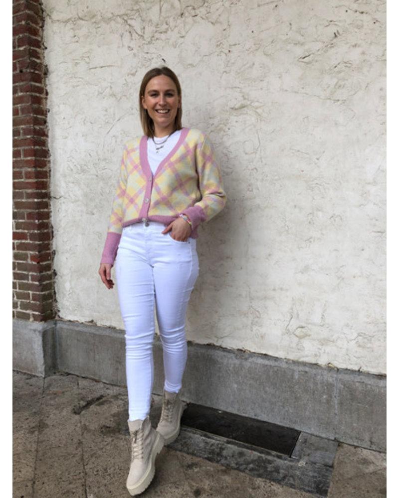Eliza jacket carreaux