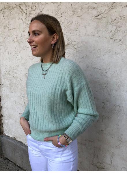 Hailey knit mint