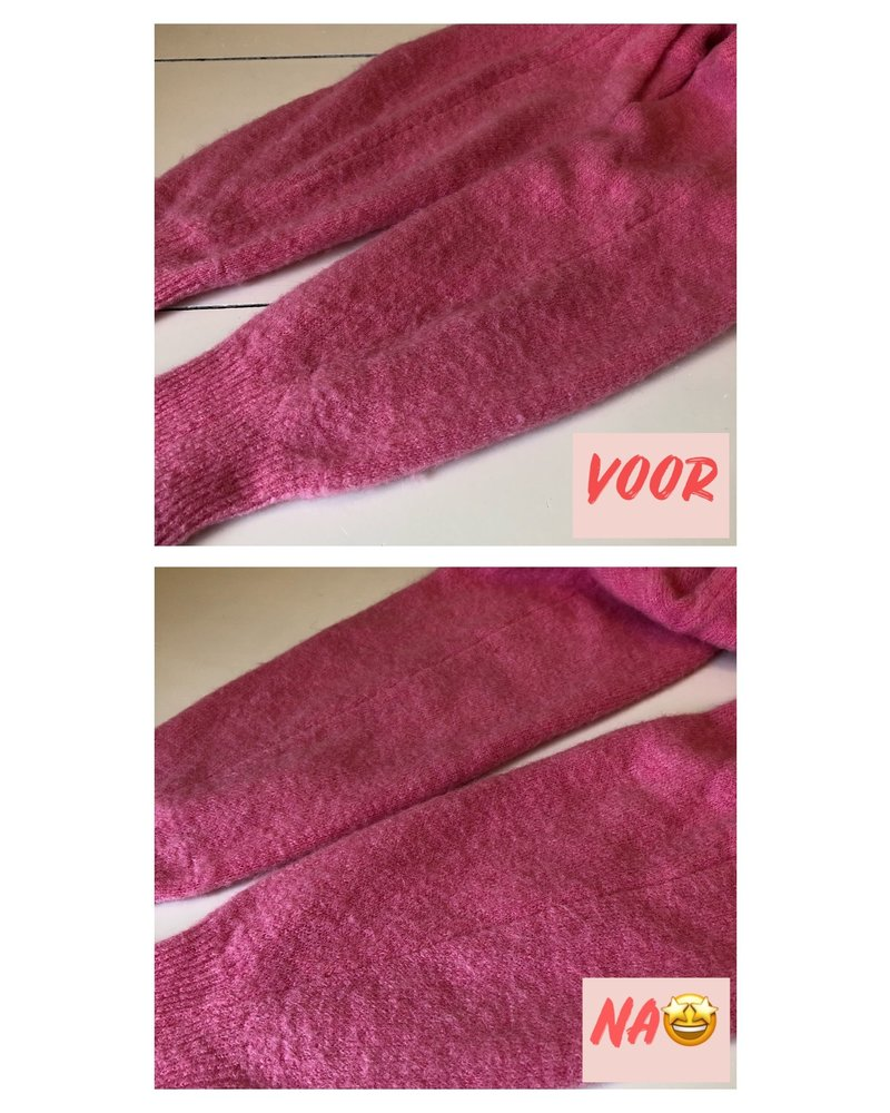 Pilo fabric shaver white