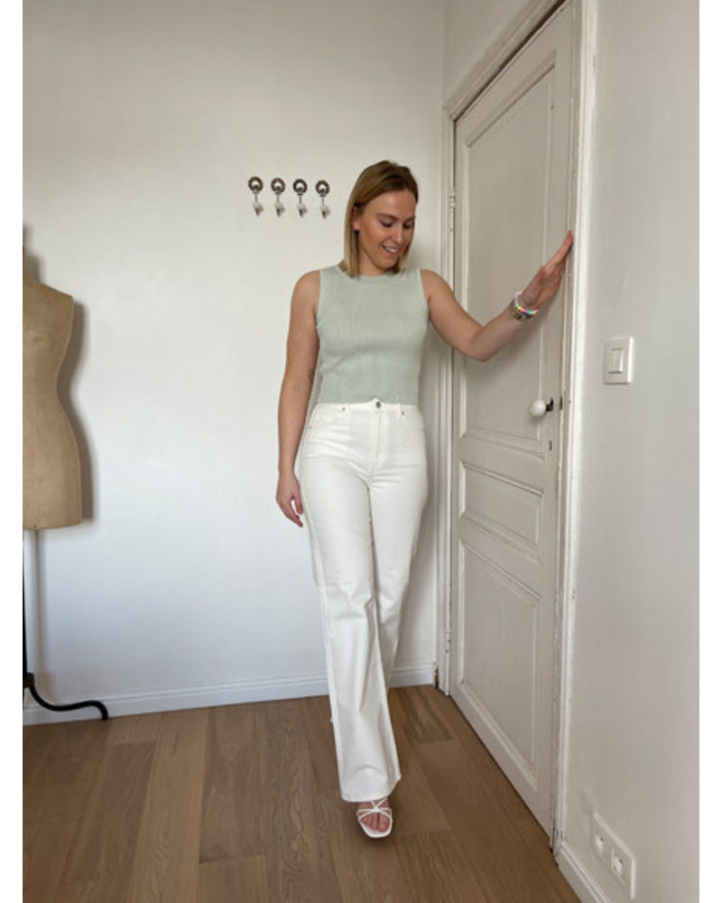 NA-KD Relaxed jeans white