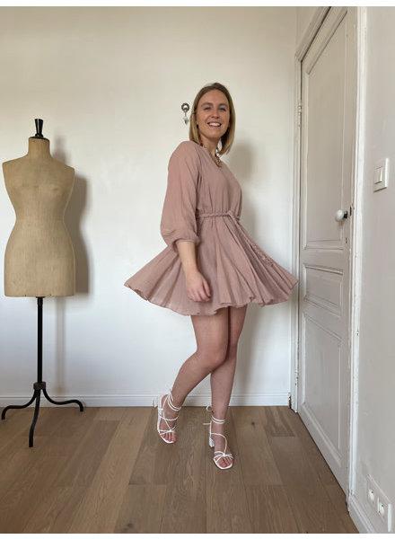 Luna dress pink