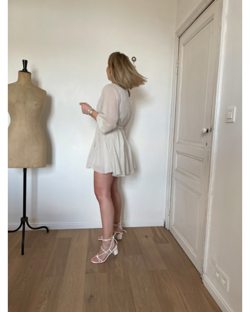 Luna dress beige