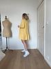 Lou dress yellow