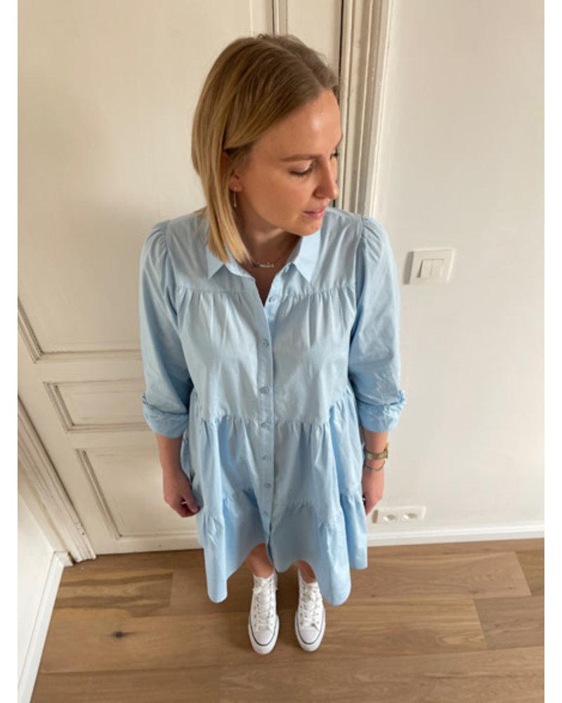 Lou dress blue