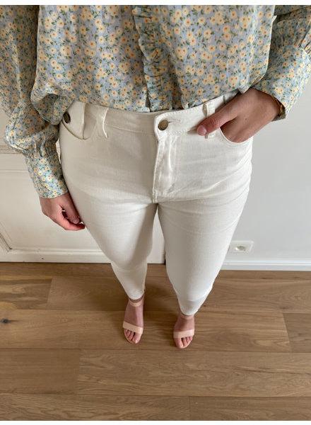 Lauren jeans white