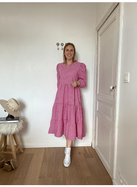 Liss dress cerise