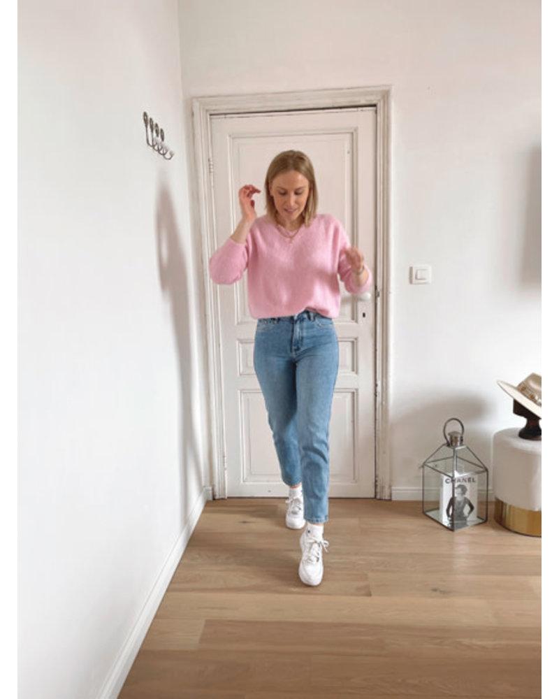 Rosie summer knit sweet pink