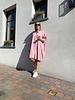 Lizzie oversized dress pink