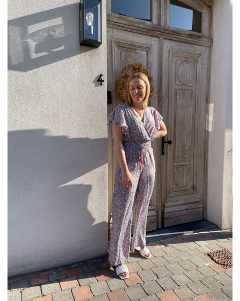 Liv flowered jumpsuit