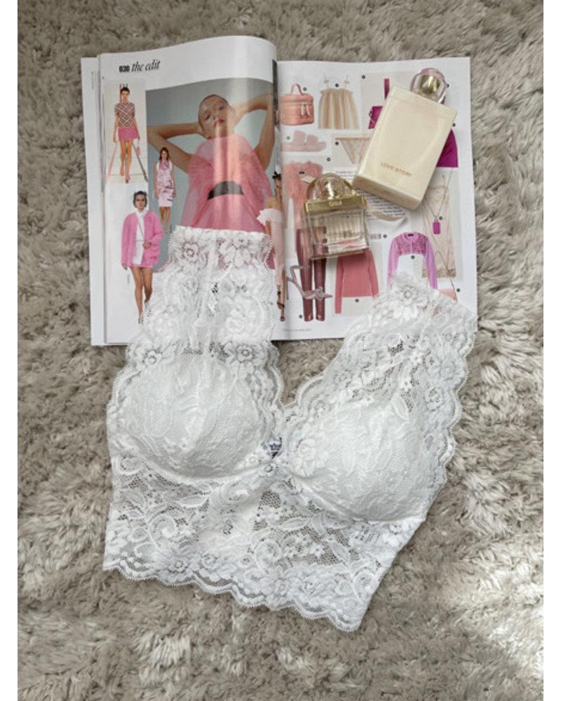 Bralette white