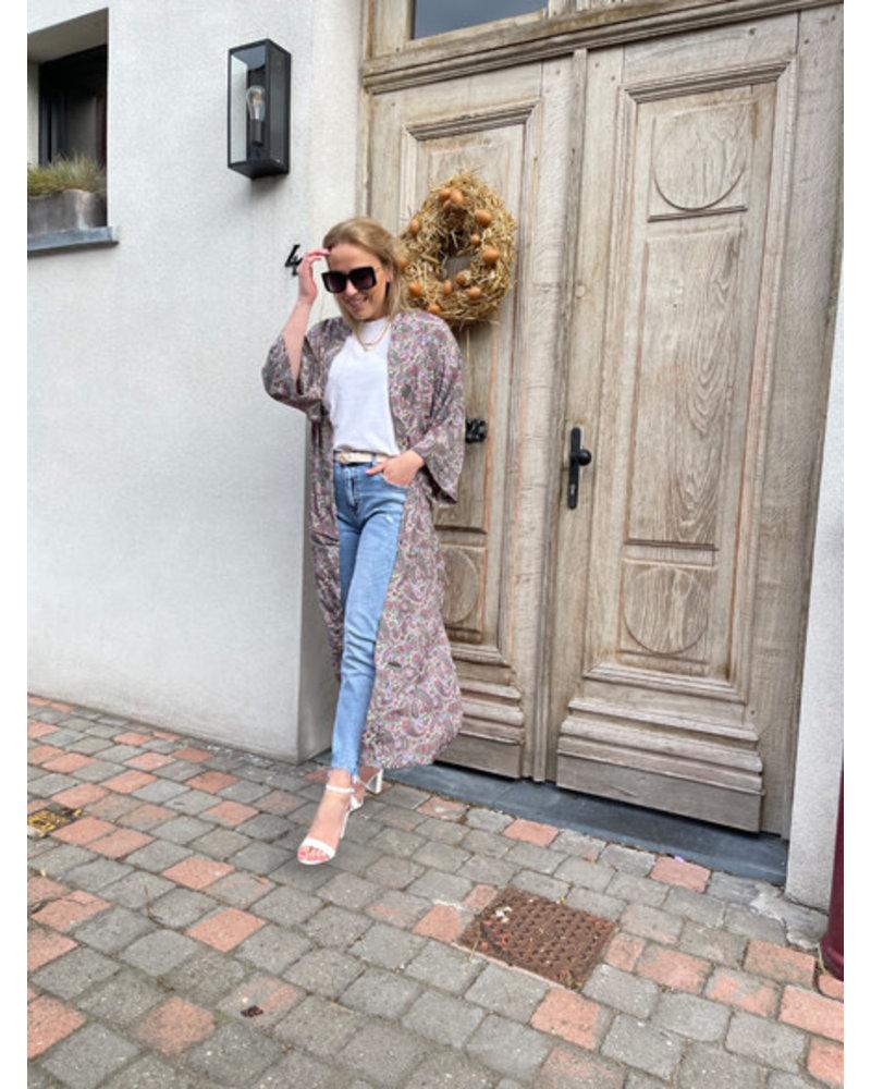 Lizzie heels white