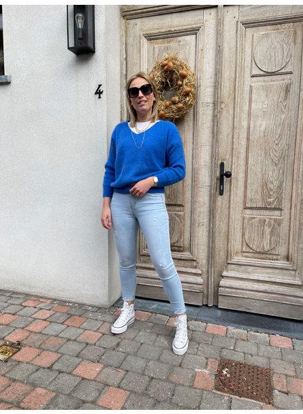 Rosie summer knit blue