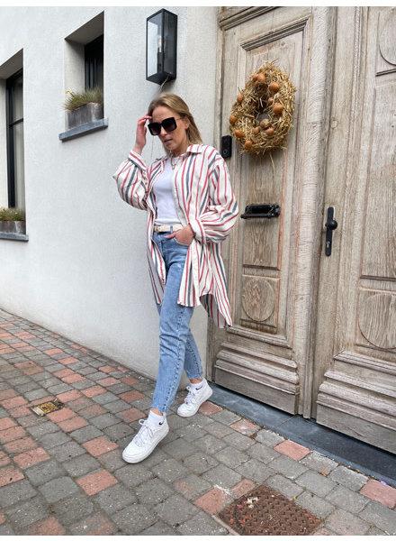 Abby striped shirt/dress