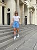 Ariana shorts blue