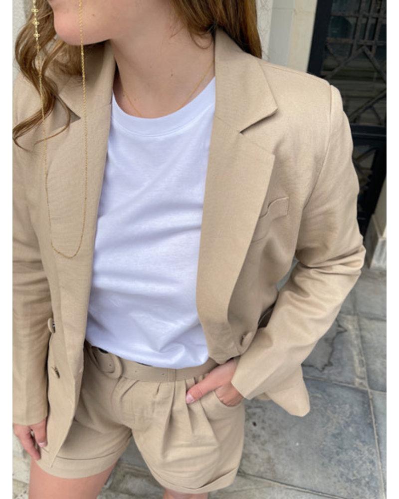 Ariana blazer beige