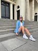 Ariana blazer blue