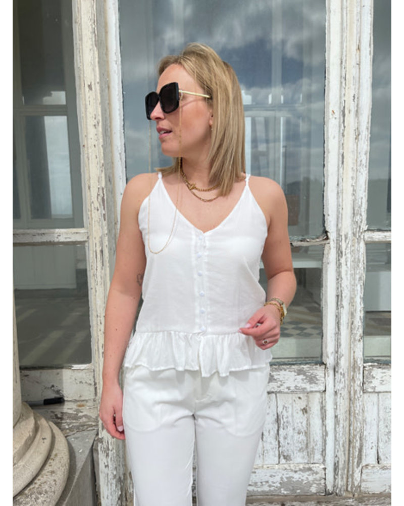 Nelly top white