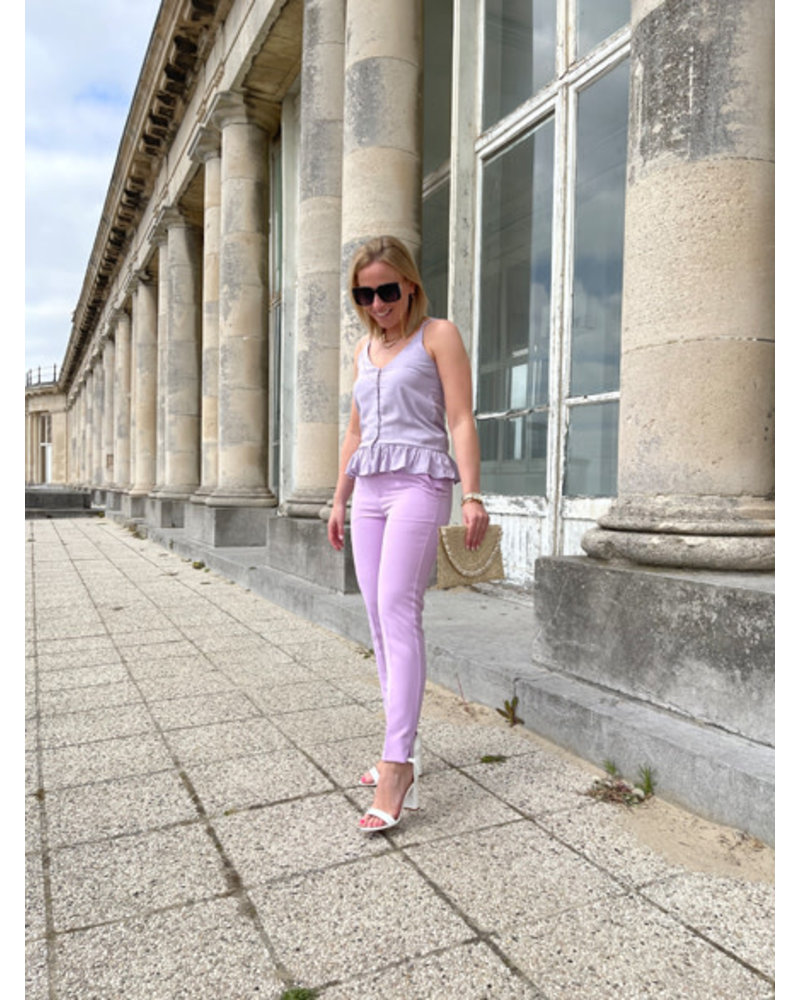Nelly top lilac