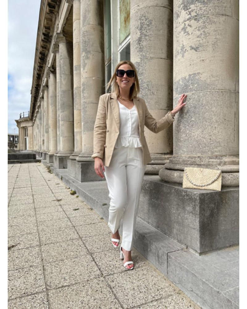 Rosie trousers white