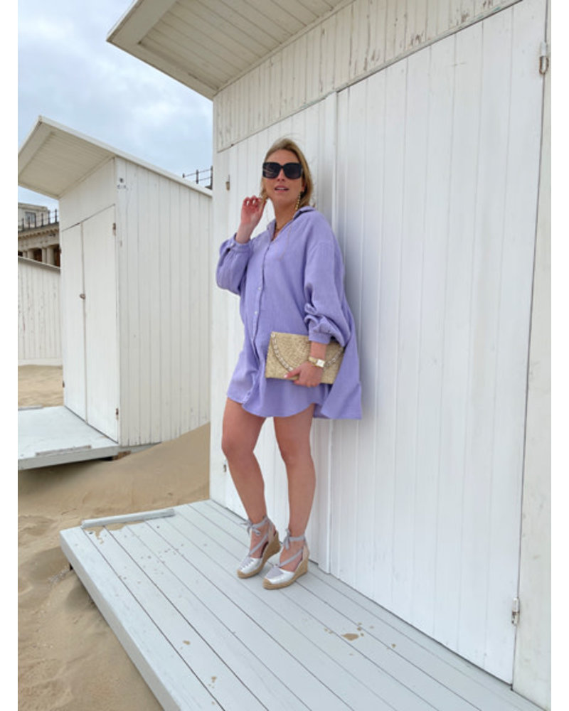 Tetra dress lilac