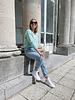 Rosie summer knit pistachio