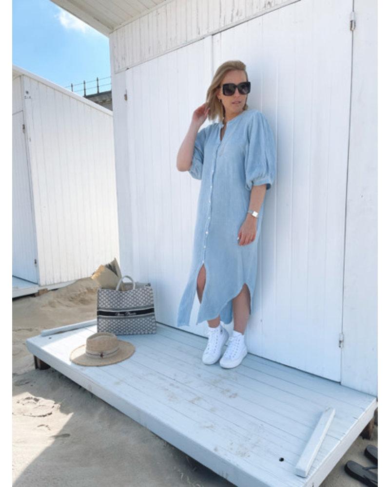 Tetra dress blue