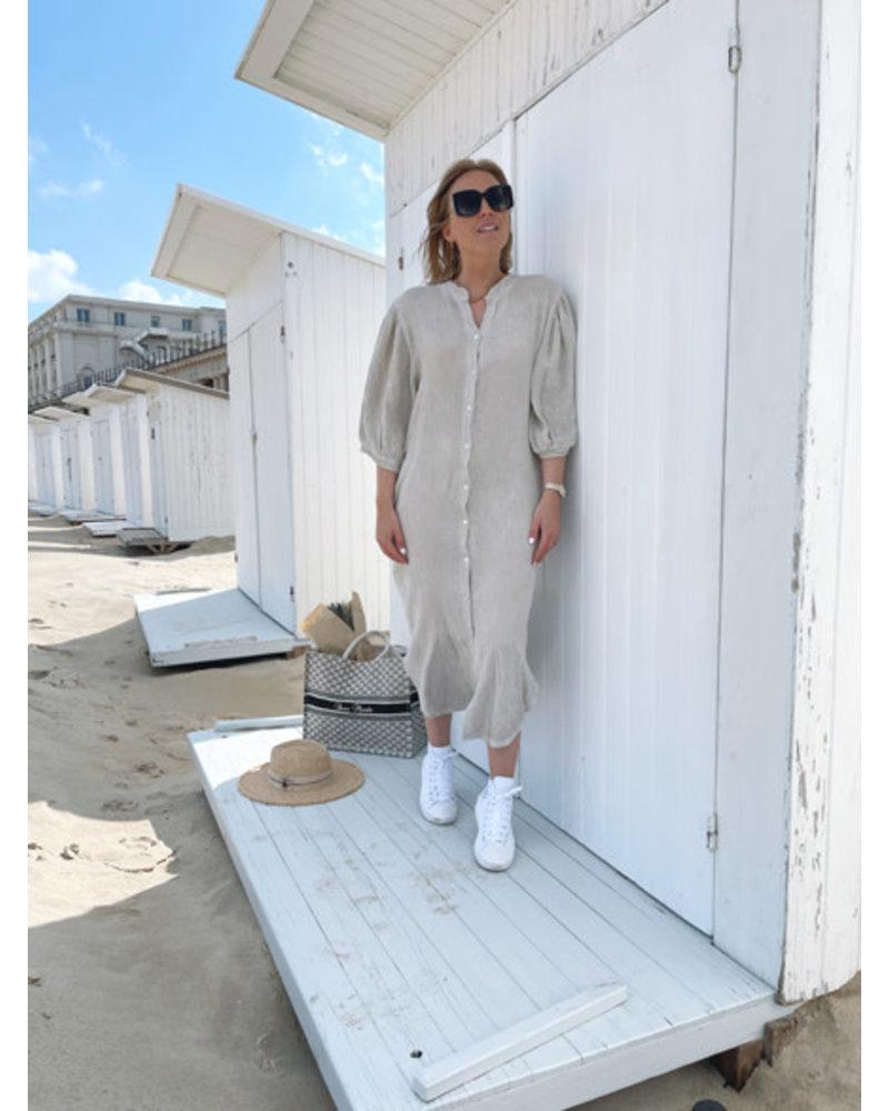Tetra dress beige
