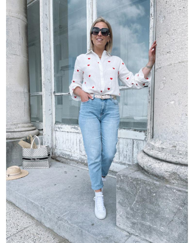 Lea straight jeans