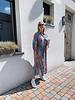 Lea maxi dress mulitcolor