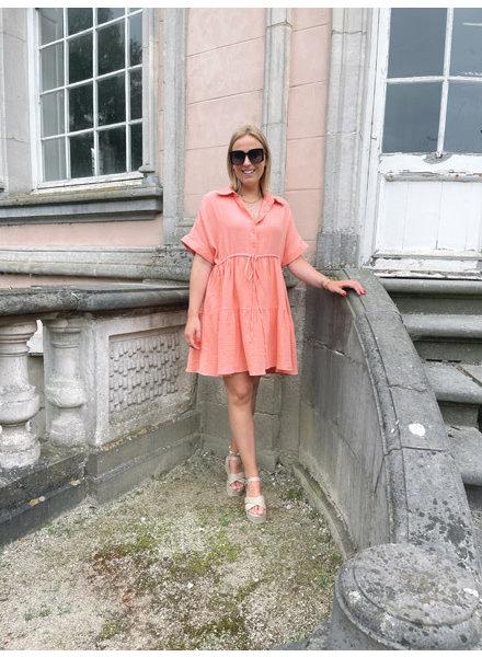 Malibu dress peach